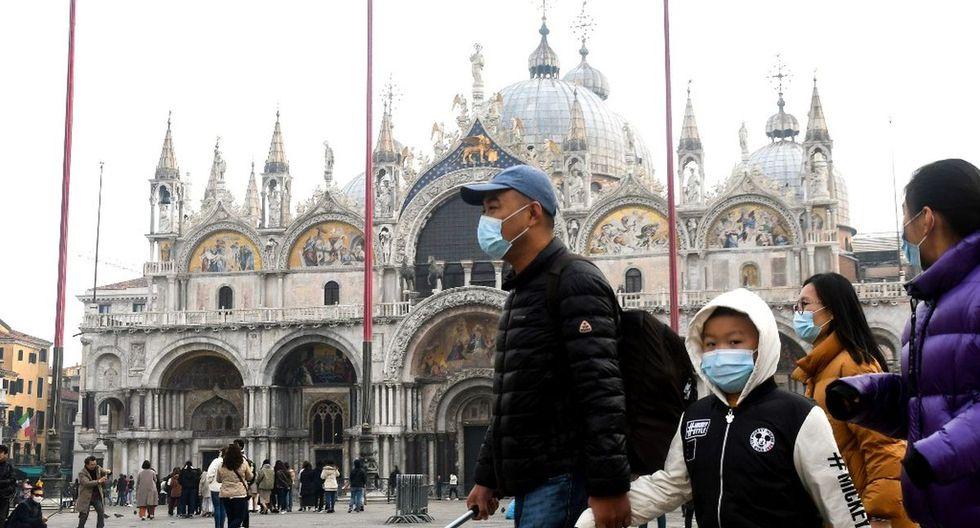 Coronavirus en Italia: Siete muertos y más de 220 contagiados con el virus chino. (AFP)