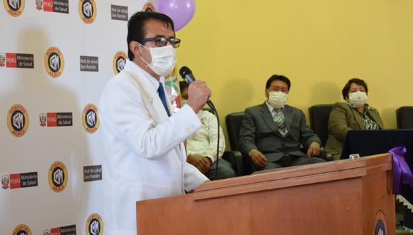 Puno: El jefe del Comando Regional Regional COVID-19, Fredy Velásquez Angles, solicitó incluir a Puno en las regiones con cuarentena focalizada por incremento de casos, principalmente, en la ciudad de Juliaca. (Foto Diresa)