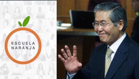 Alberto Fujimori impartirá clases en La Escuela Naranja. (Reuters)