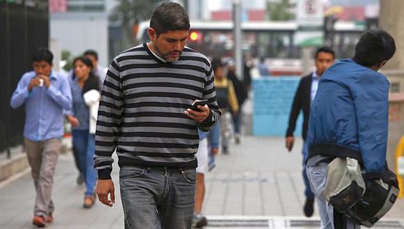 El número de portaciones móviles registrado en agosto fue menor al resultado que se reportó en julio. (Foto: USI)