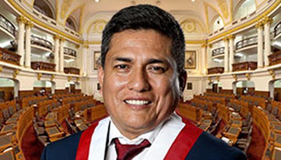 Congresista Moisés Gonzales ingresó al Congreso con la camiseta de APP en representación de la región Cajamarca. (Foto: Web congresista Moisés González)