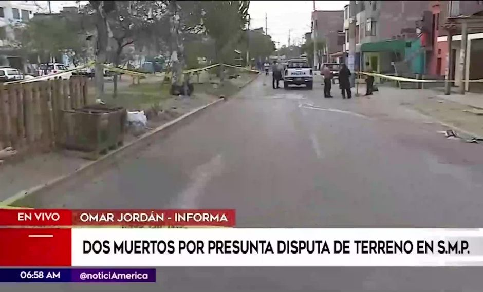 Los heridos fueron llevados de emergencia al hospital de Collique, en Comas, sin embargo no resistieron y fallecieron en el camino. (Foto captura: América Noticias)