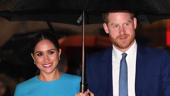 El príncipe Harry y su esposa Meghan Markle compraron una casa en Santa Bárbara. (Foto: AFP)