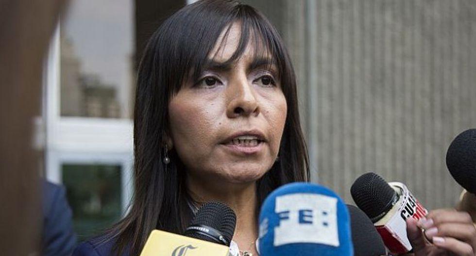 Giulliana Loza enfatizó que con la declaración de Romero Paoletti queda demostrado que no se cometió el delito de lavado de activos. (Foto: GEC)