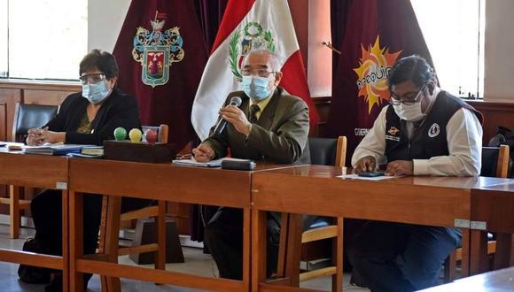 Gustavo Rondón, expresidente del Comando COVID-19 de la región Arequipa (Foto difusión).