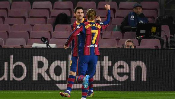 Barcelona vs. Real Sociedad se miden en la jornada 19 de LaLiga Santander. (Foto: AFP)