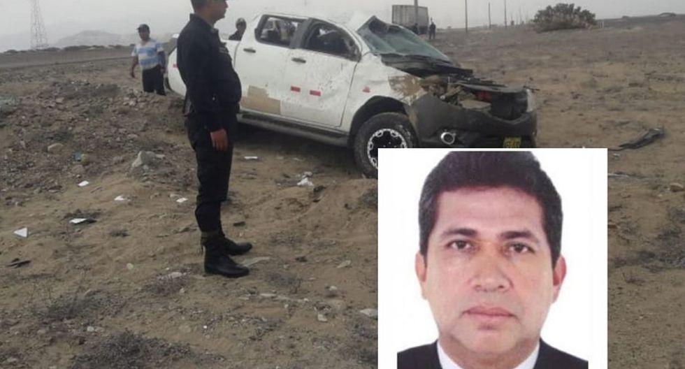 El alcalde perdió el control del vehículo en el que viajaba de Chepén a Trujillo. (Foto: Facebook de Sol Tvperu)