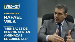 """Rafael Vela: """"Mensajes de Cerrón serían amenazas encubiertas"""""""