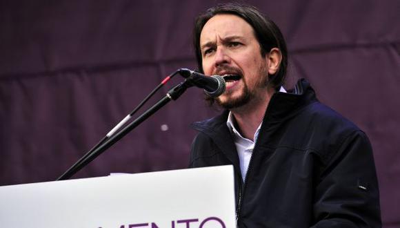 ACUSADO. Dicen que Pablo Iglesias recibió dinero irregularmente de Venezuela. (AFP)