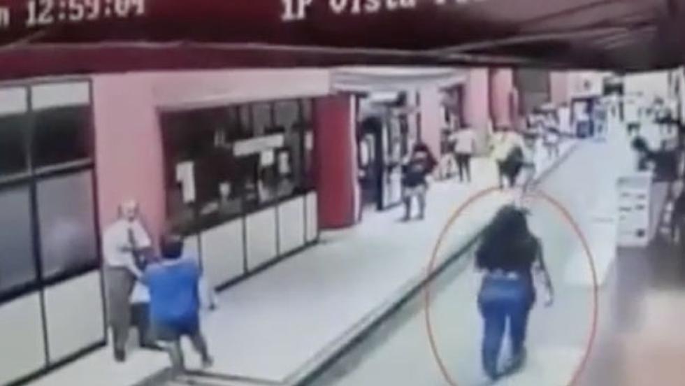 El pasado lunes, una menor de 15 años consiguió escapar mientras era custodiada por una suboficial de la Policía en la sede del Ministerio Público.  (América TV)