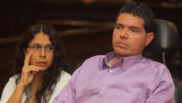 Caso Urtecho: Claudia Gonzáles, esposa del excongresista, no irá a prisión. (Difusión)