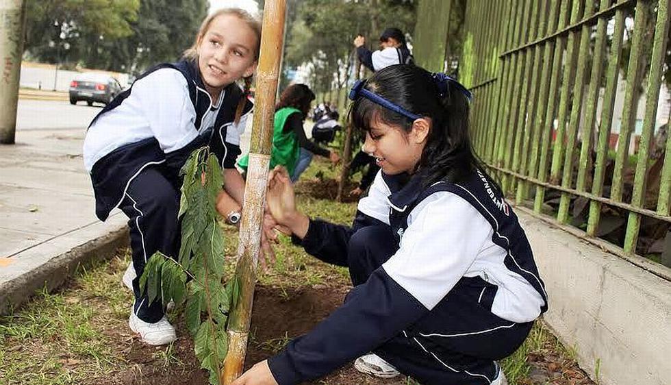 La Subgerencia de Limpieza Pública, Parques y Jardines de la Municipalidad de Jesús María  festejó hoy el 'Día Mundial del Medio Ambiente. (Difusión)