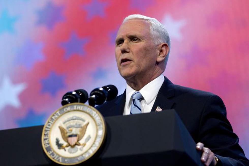 Mike Pence, vicepresidente de Estados Unidos. (AP)