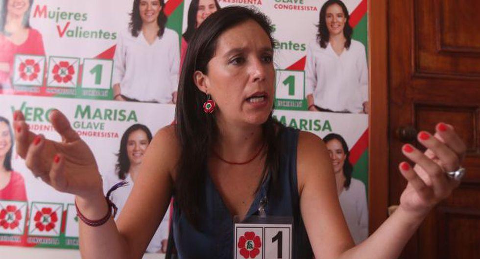 Marissa Glave denunció que su cuenta de correo fue hackeada. (Luis Centurión)