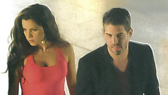 Vanessa y Pedro no se ocultan. (Revista Magaly TeVe)