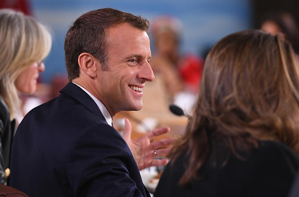 Macron opinó sobre Benzema en la antesala del Mundial. (GETTY IMAGES)