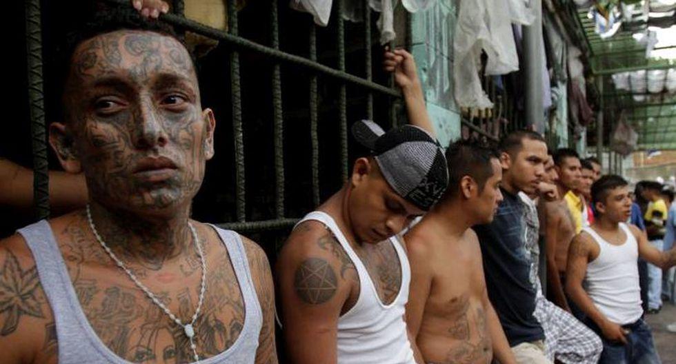 El grupo de 27 pandilleros fue sentenciado por los crímenes en el departamento de Morazán. | Foto: AFP / Referencial
