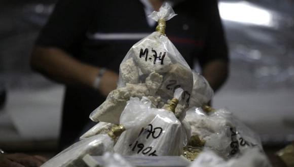 FÁBRICAS. Narcotraficantes han conseguido elaborar más estupefaciente con menos hoja de coca. (Alberto Orbegoso)