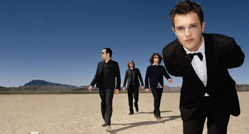 La banda estadounidense The Killers, con más de una década de trayectoria, vendrá en abril. (Internet)