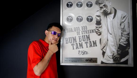 """El artista brasileño MC Fioti, compositor de la canción """"Bum bum, tam tam"""", ha vuelto a grabar su popular éxito, pero con una letra que alienta a participar en las campañas de vacunación. ( Foto: EFE)"""