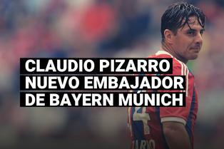 Bayern Múnich nombró a Claudio Pizarro como nuevo embajador