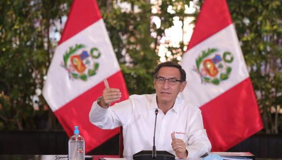 Martín Vizcarra sobre el levantamiento de cuarentena: 'No regresaremos a la normalidad, porque ya no hay normalidad'. (Presidencia)