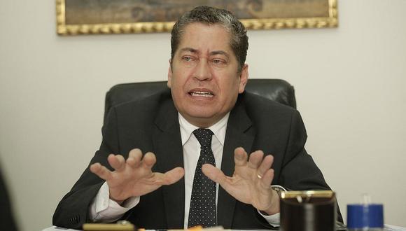 Eloy Espinosa-Saldaña dijo que, si José Luis Sardón está satisfecho con su ponencia luego de la audiencia, la demanda contra la ley ONP se podría estar votando el jueves 4. (Foto: GEC)