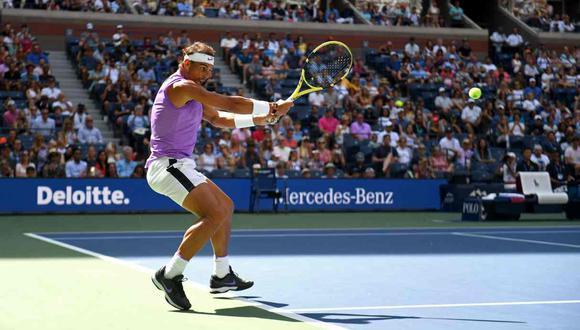 Nadal vs. Cilic se miden en el partido del US Open. (Foto: AFP)