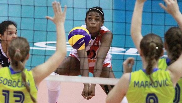 Ángela Leyva es la gran líder del equipo. (FIVB)