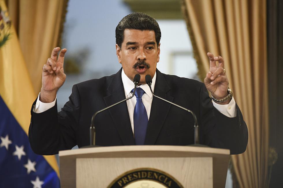 """Maduro ve a Guaidó como """"una circunstancia que va a pasar"""" y dijo que hay que hablar con """"toda la oposición en su conjunto para ver lo que está pensando"""". (Getty)"""