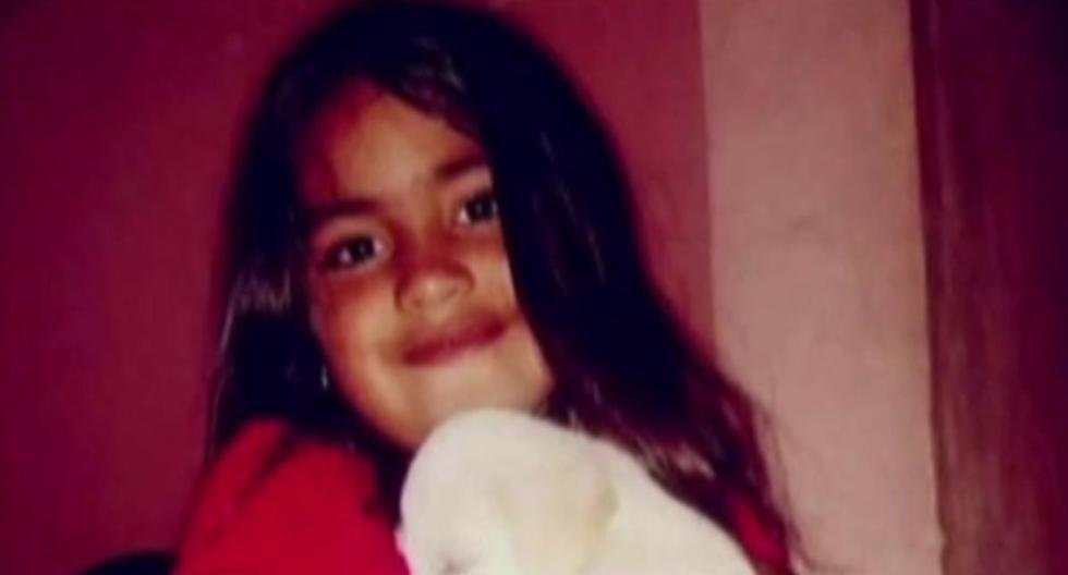 Guadalupe Belén Lucero desapareció en el barrio donde está la casa de su tía en San Luis, Argentina. (Captura de video).