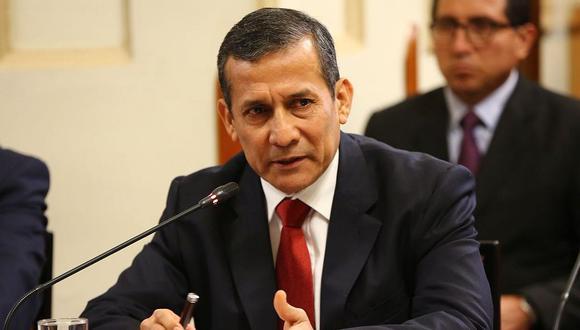 El ex presidente Ollanta Humala se encuentra en calidad de investigado por la Comisión Madre Mía. (Foto: USI)