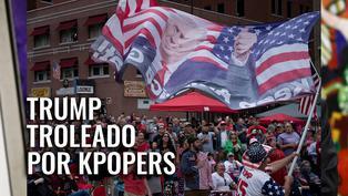 Trump troleado por Kpopers