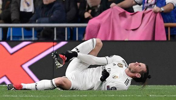 Gareth Bale suma nueva lesión defendiendo al Real Madrid. (Foto: AFP)