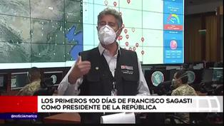 Balance de los 100 primeros días de Francisco Sagasti como presidente