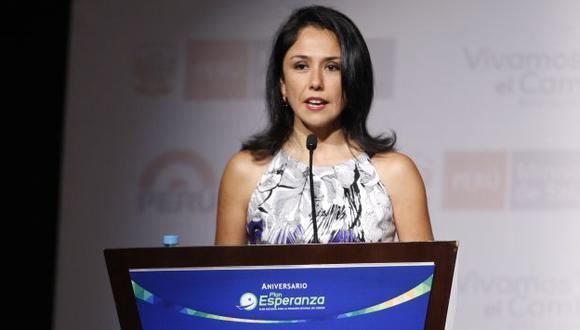 Nadine Heredia sería la salvavidas del nacionalismo en el 2016. (Luis Gonzales/Peru21)