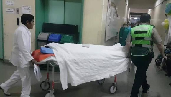 Hombre fue conducido a hospital Honorio Delgado donde falleció horas después. (Facebook Arequipeño Informado)