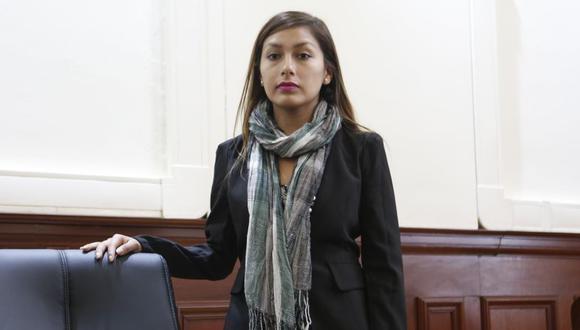 Arlette Contreras ha asistido a más de 100 audiencias durante los dos juicios orales anteriores. (Canal N/El Comercio)