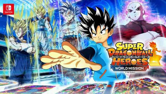 Bandai Namco lanzará 'Super Dragon Ball Heroes: World Mission' en Nintendo Switch el 5 de abril.