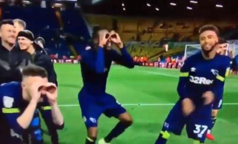 Los jugadores de Derby County se burlaron de los métidos de Marcelo Bielsa. (Captura: YouTube)