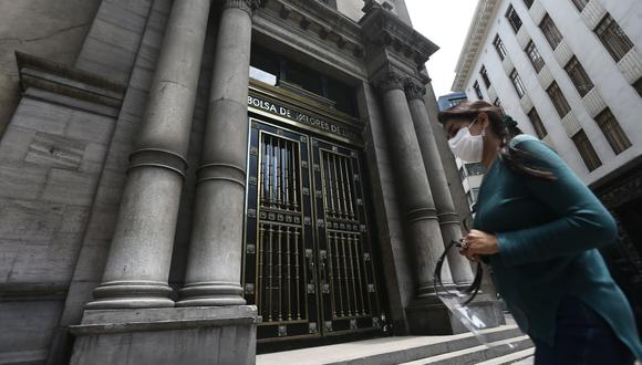 El índice S&P/BVL Perú Selectivo, donde se cotizan las acciones de mayor liquidez y capitalización, caía un marginal 0.01%. (Foto: Jesus Saucedo / GEC)