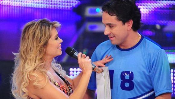 Roberto Martínez se reencontrará con Gisela Valcárcel en 'El gran show'. (Perú 21)
