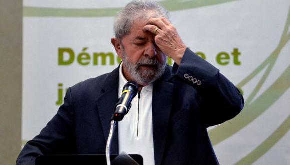 Luiz Inácio Lula da Silva fue denunciado por corrupción por favorecer a la empresa Odebrecht. (AFP)