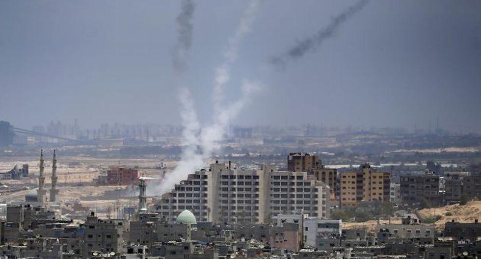 Israel reanuda ataques aéreos en Gaza por nuevos cohetes . (AFP)