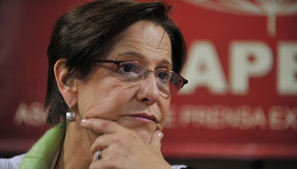 El recurso presentado por la defensa de Villarán busca que se anule la prisión preventiva en su contra. (GEC)
