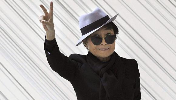 Yoko Ono prefiere ser optimista incluso ante las desgracias. (EFE)