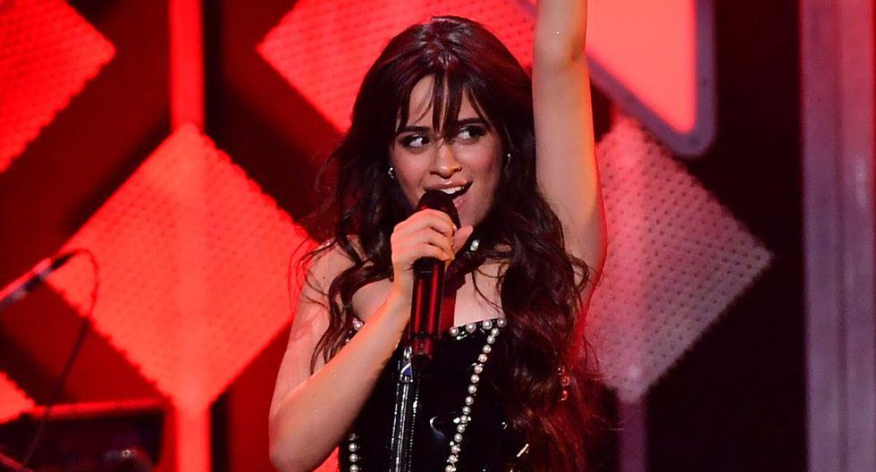 Camila cabello promete salir en ropa interior a recibir el Grammy si gana. (AFP)