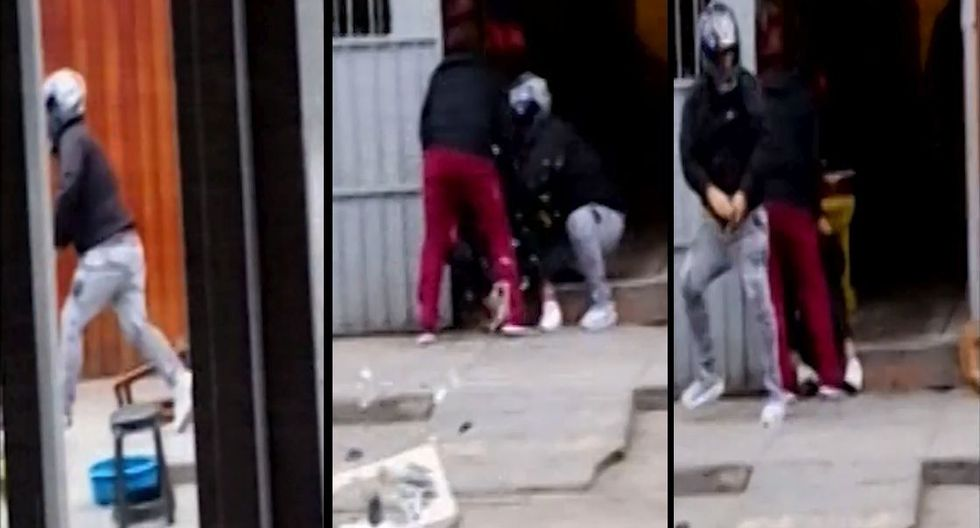 Los Olivos: Vecinos frustran asalto, capturan a uno de los delincuentes y lo golpean antes de entregarlo. (Canal N)
