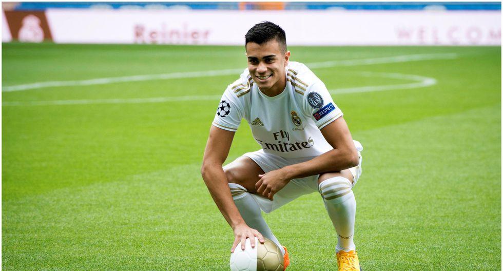 Edad 18: Reinier juega en Real Madrid y está valorizado en 27 millones de dólares (Foto EFE)