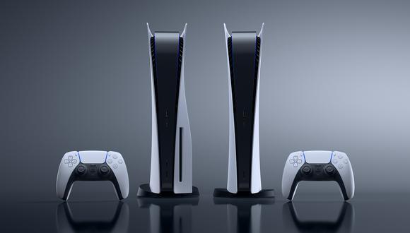 La PlayStation 5 posee dos versiones: una con lector Blu-ray y otra sin este. (Difusión)